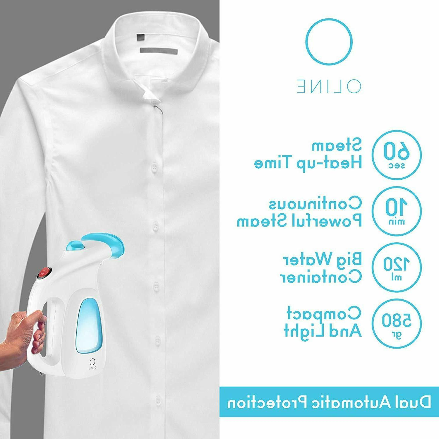 Garment Steamer Handheld Portable Clothes Remover Steam Iron