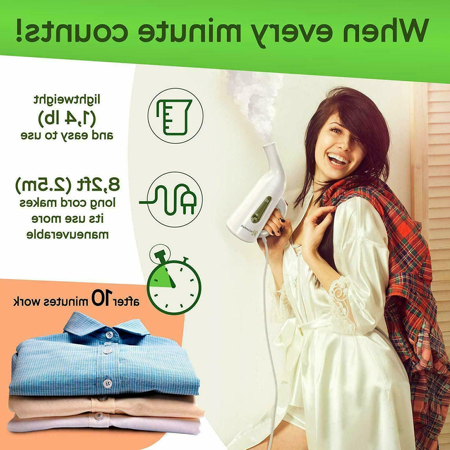 Garment Clothes Portable Wrinkle Iron Fast