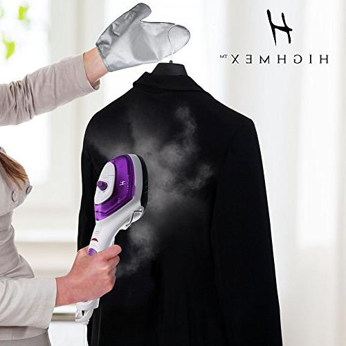 Portable Steamer: Mini for Clothes, and - Compact Hand Steamer Fast Heat Garment Steamer with