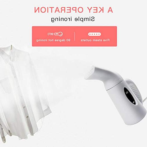 Suwikeke Handheld Fabric Steamer, Heat-up and 800W Powerful Portable 10,