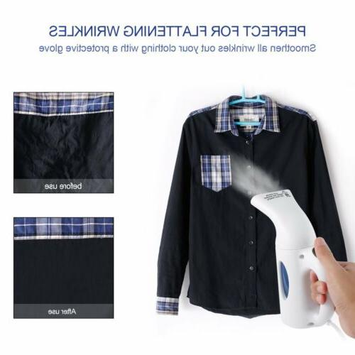 Handheld Portable Fabric Steam Clothes Compact Heat