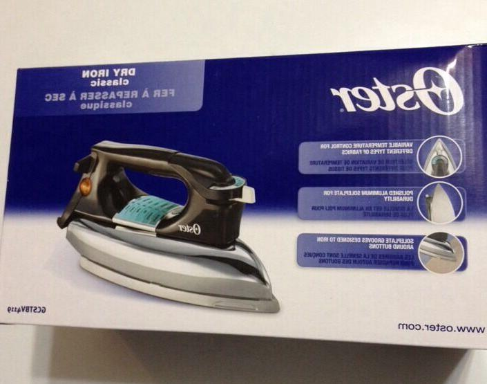 Genuine Oster Heavyweight Classic Dry Iron GCSTBV4119 Osteri