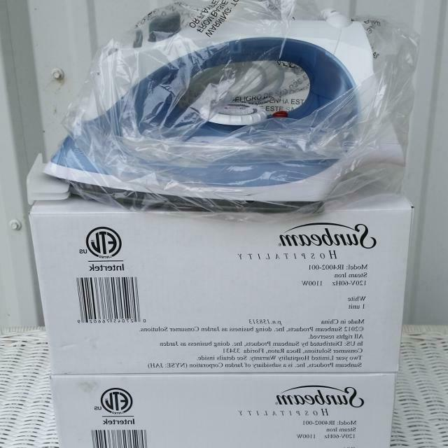 hospitality steam iron brand new