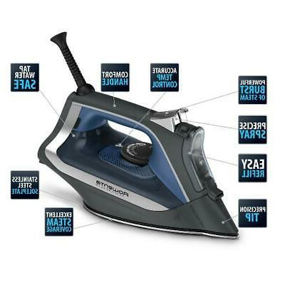 Steam Iron Stainless Steel Digital Display Auto