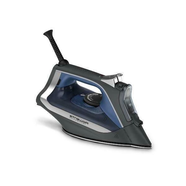 performance steam iron stainless steel soleplate auto