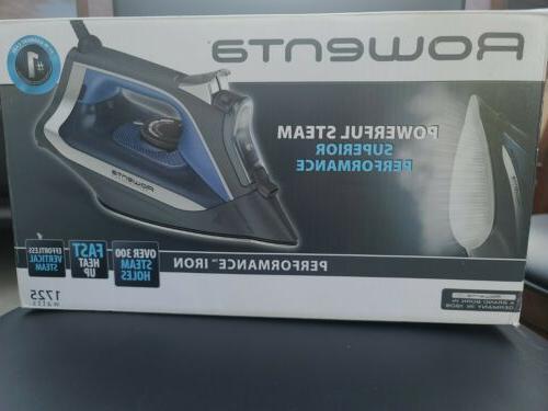 Rowenta Performance Steam Iron Stainless Steel Auto-Off 1725W DW2350U1