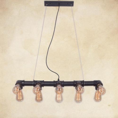 Iron Water Pipe Chain 10 Lighting US