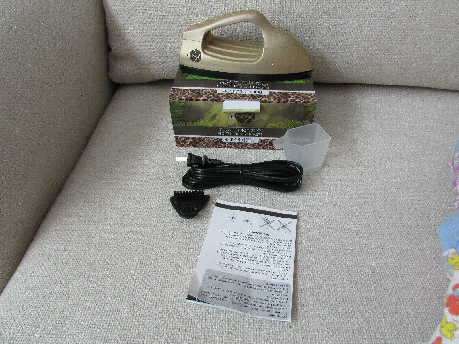 Xsteam Leopard Garment Professional Steamer Travel Edition In