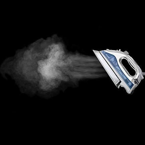Shark Lightweight Steam Iron auto-Off Cord Stainless and watts, Blue - GI468NN