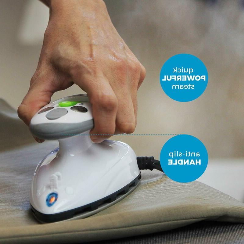 Steamfast Iron With Dual Voltage Travel Non-Stick