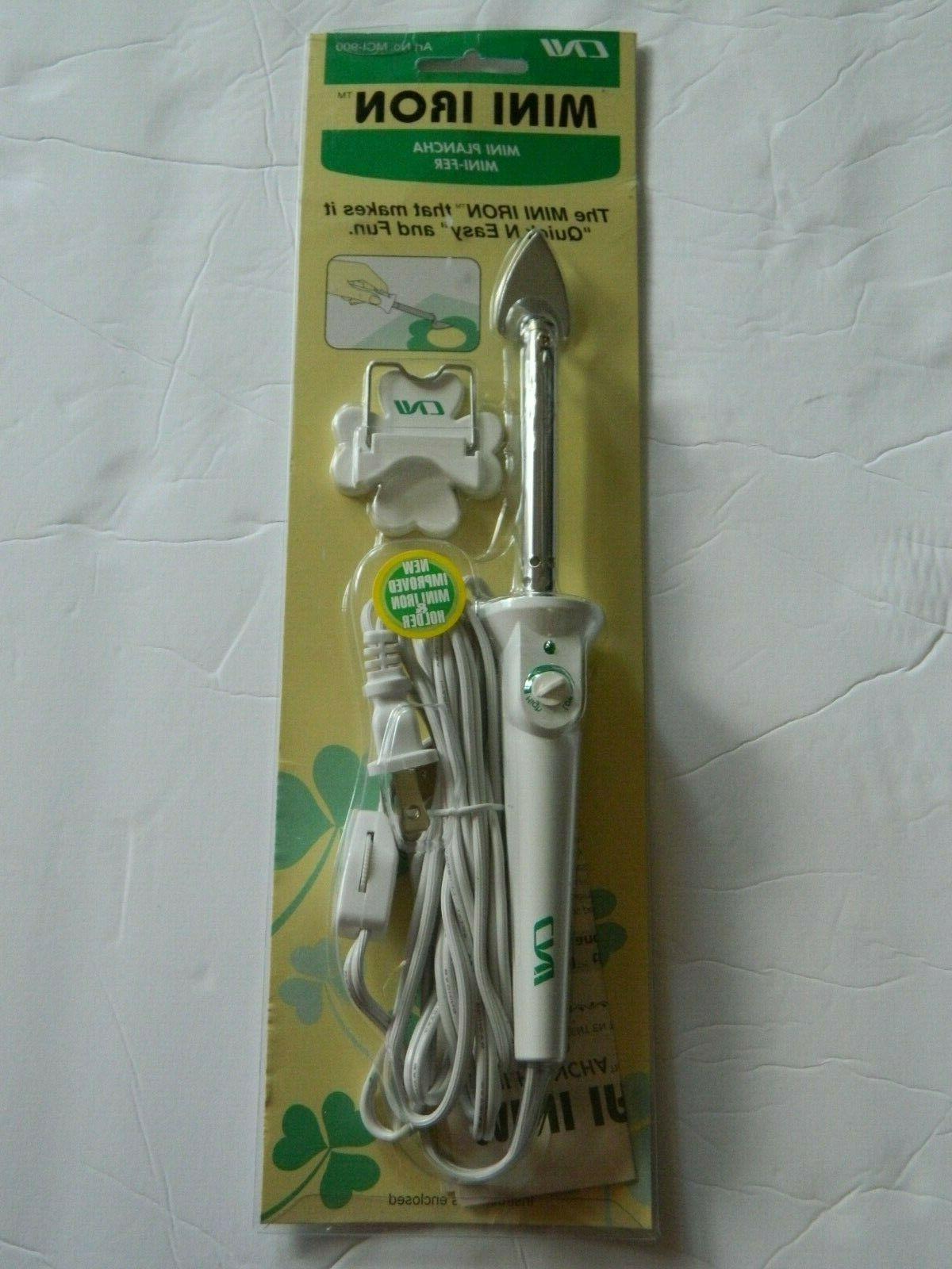 new clover needlecraft mini iron mci 900