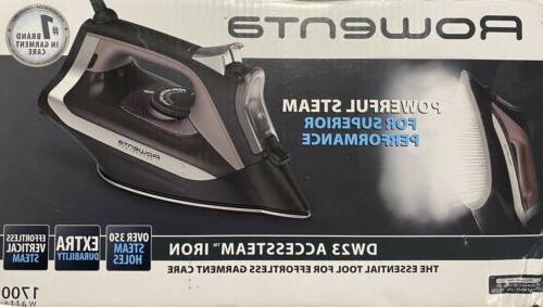 iron dw2361u1 digital display steam iron stainless