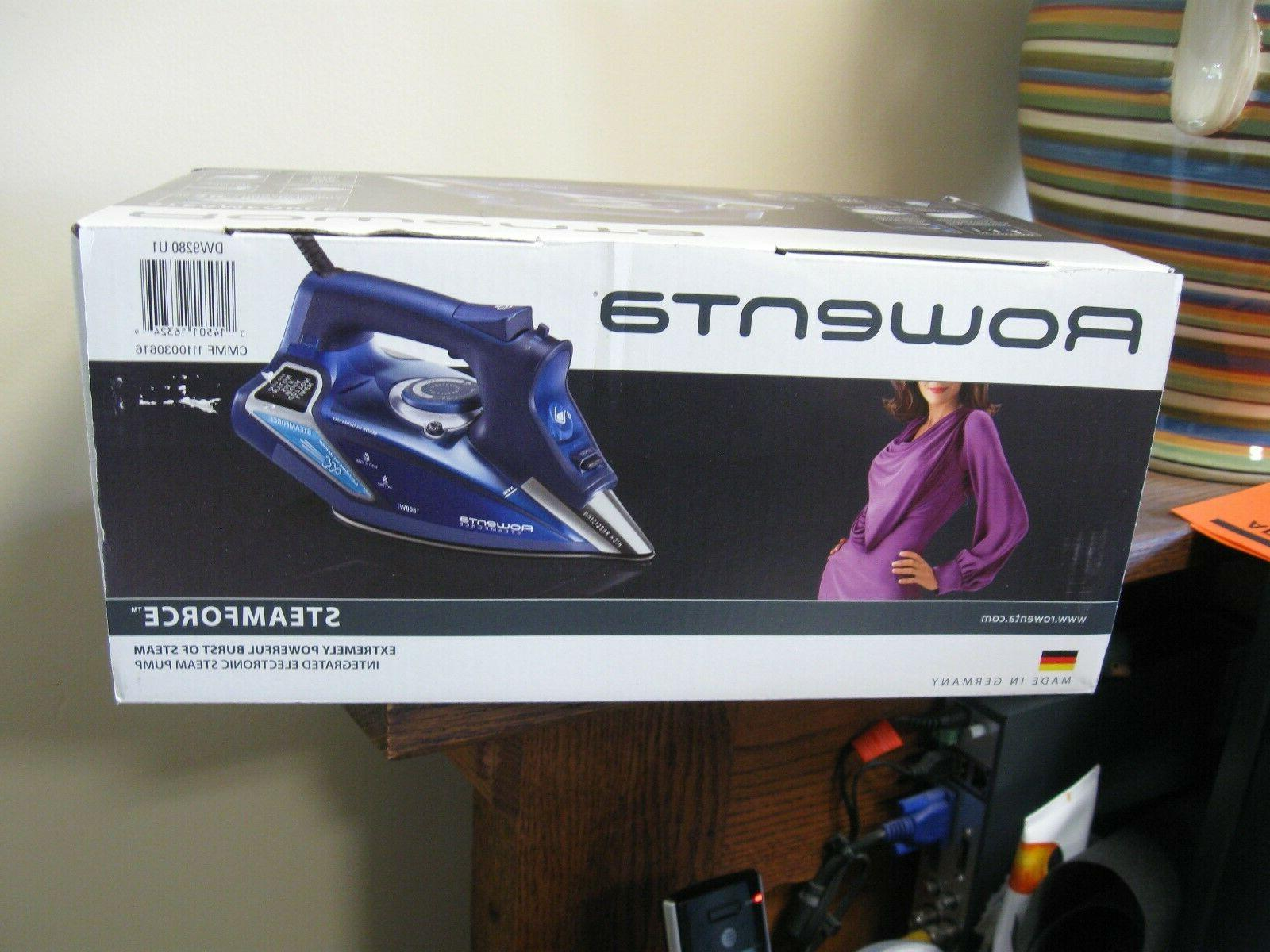 New! Rowenta Steamforce Iron Auto Off