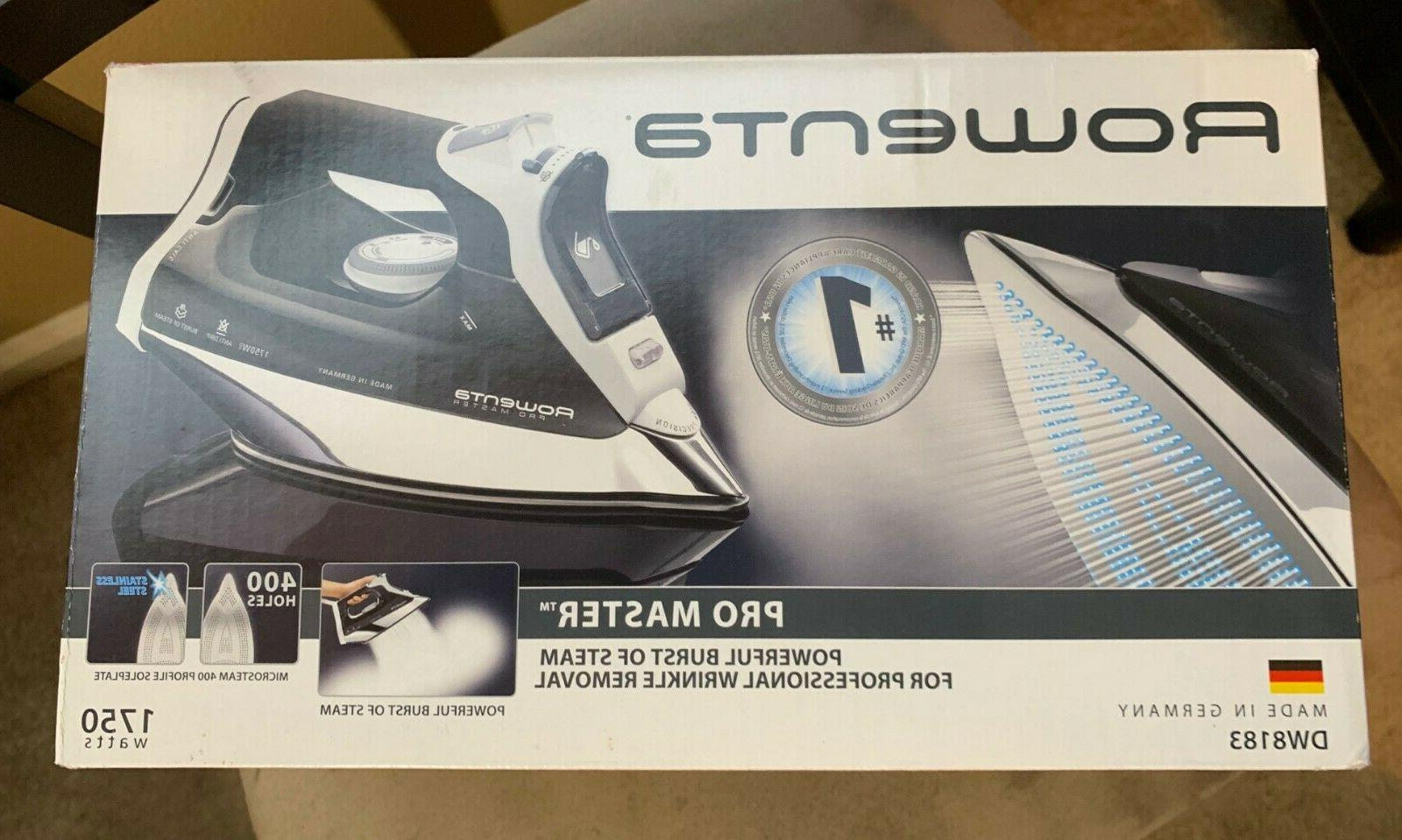 pro master professional steam iron made in