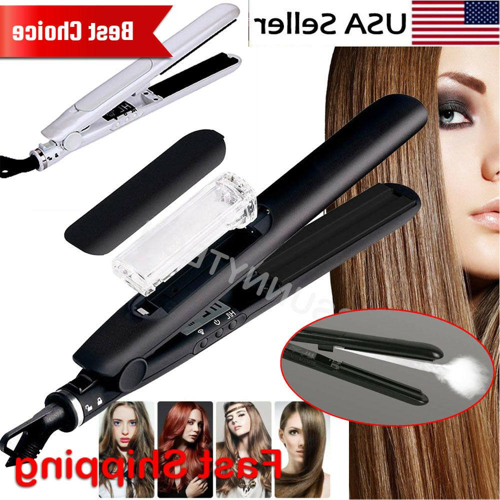 professional argan oil vor ceramic flat iron
