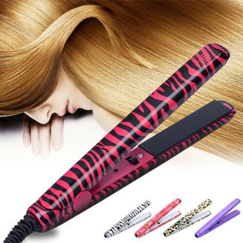 professional ceramic hair straightener steam styler flat