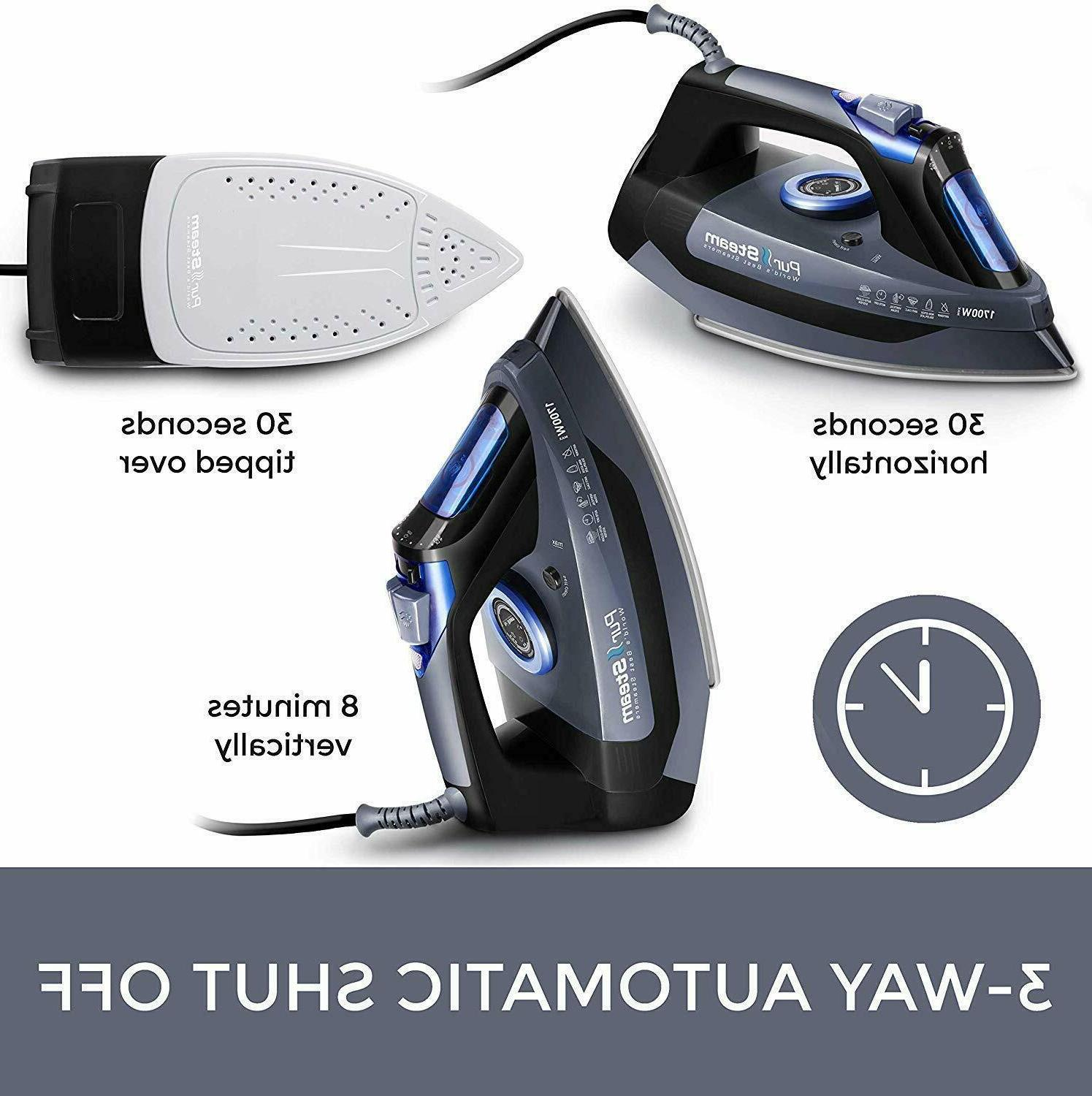 """""""Professional 1700W Iron Rapid Even Scratch Re"""