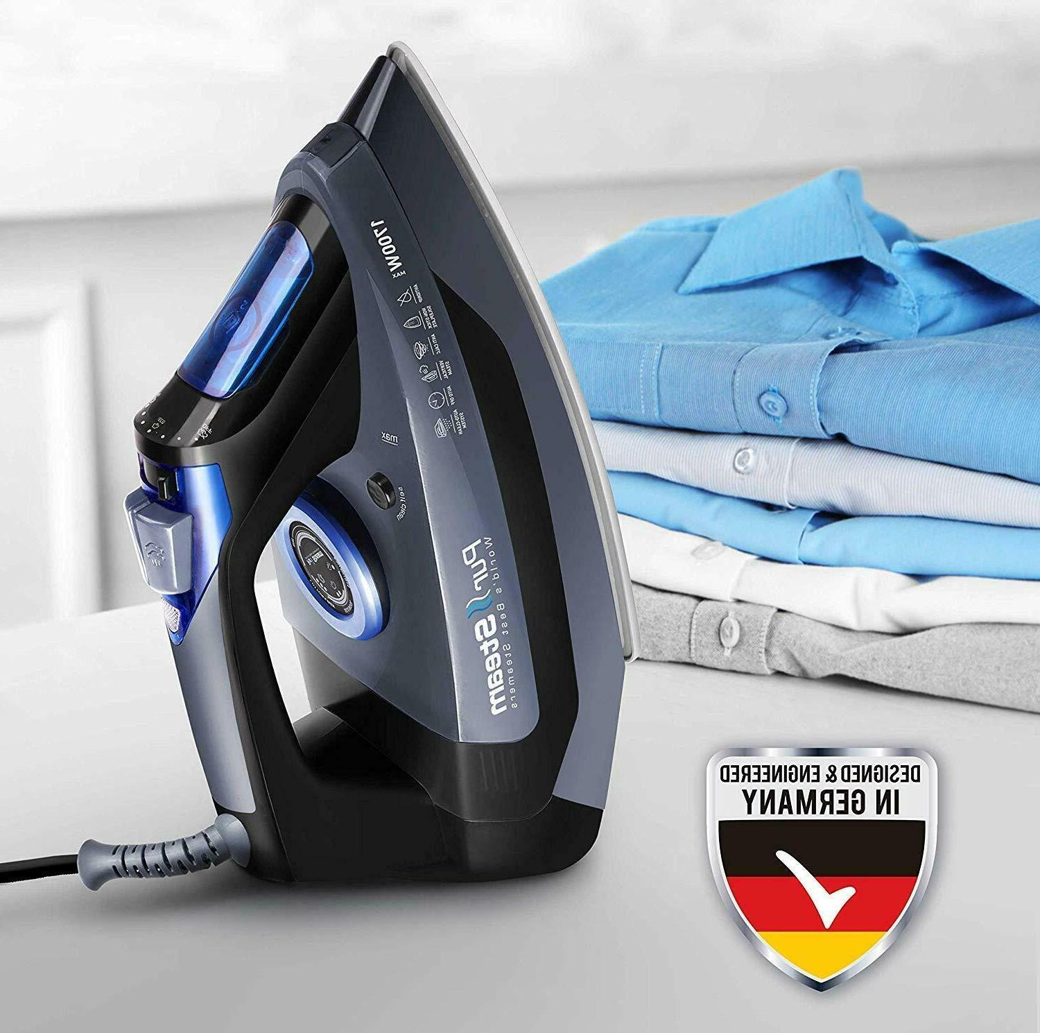"""""""Professional Grade Steam Iron for with Rapid Re"""