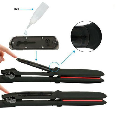 Professional Infrared Agran Oil Ceramic Flat Hair Straightener Styler