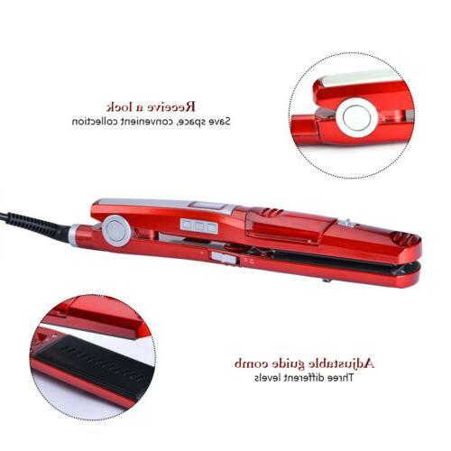 Professional Salon Steam Hair Vapor Flat Iron