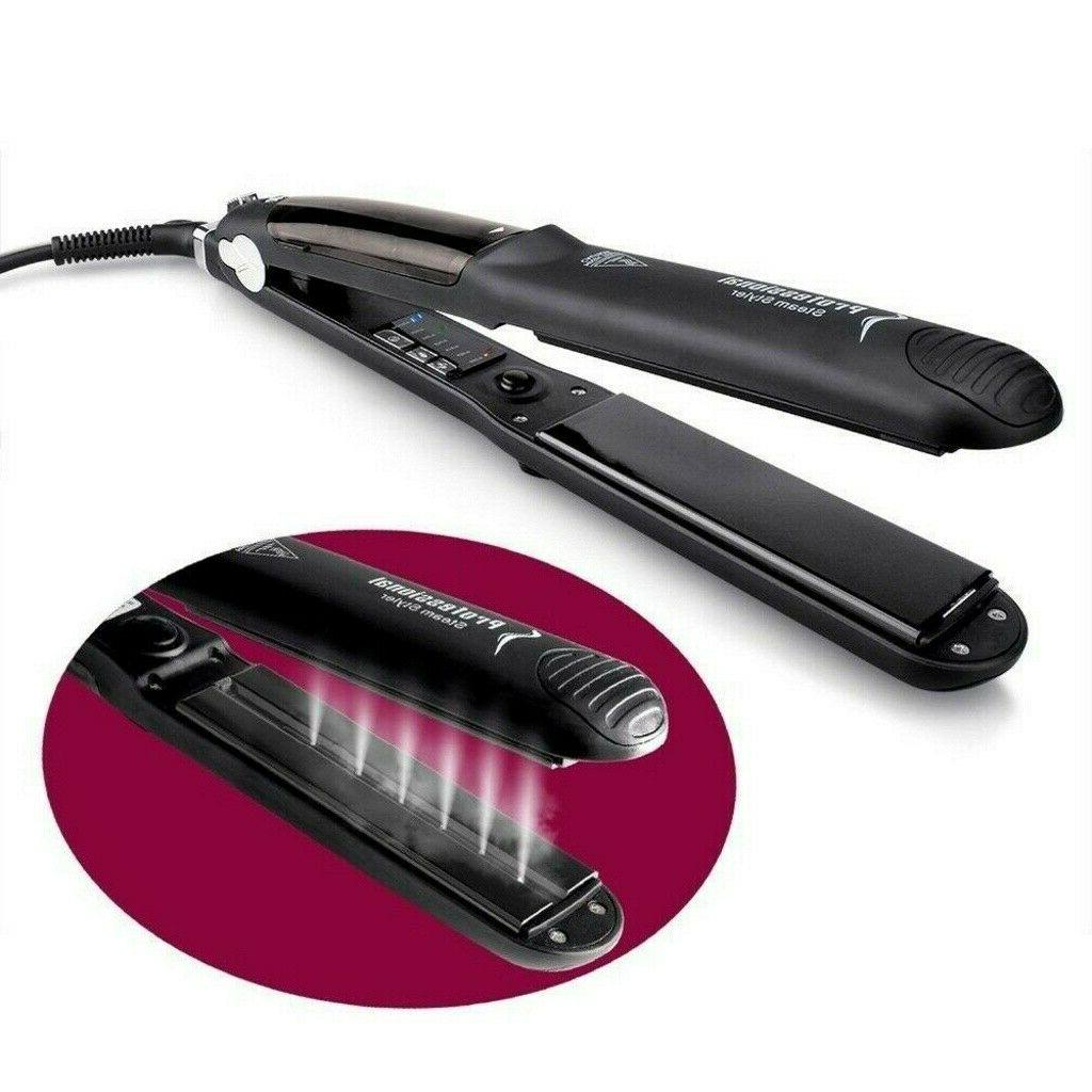 Professional Vapor Ceramic Iron Hair Straightener