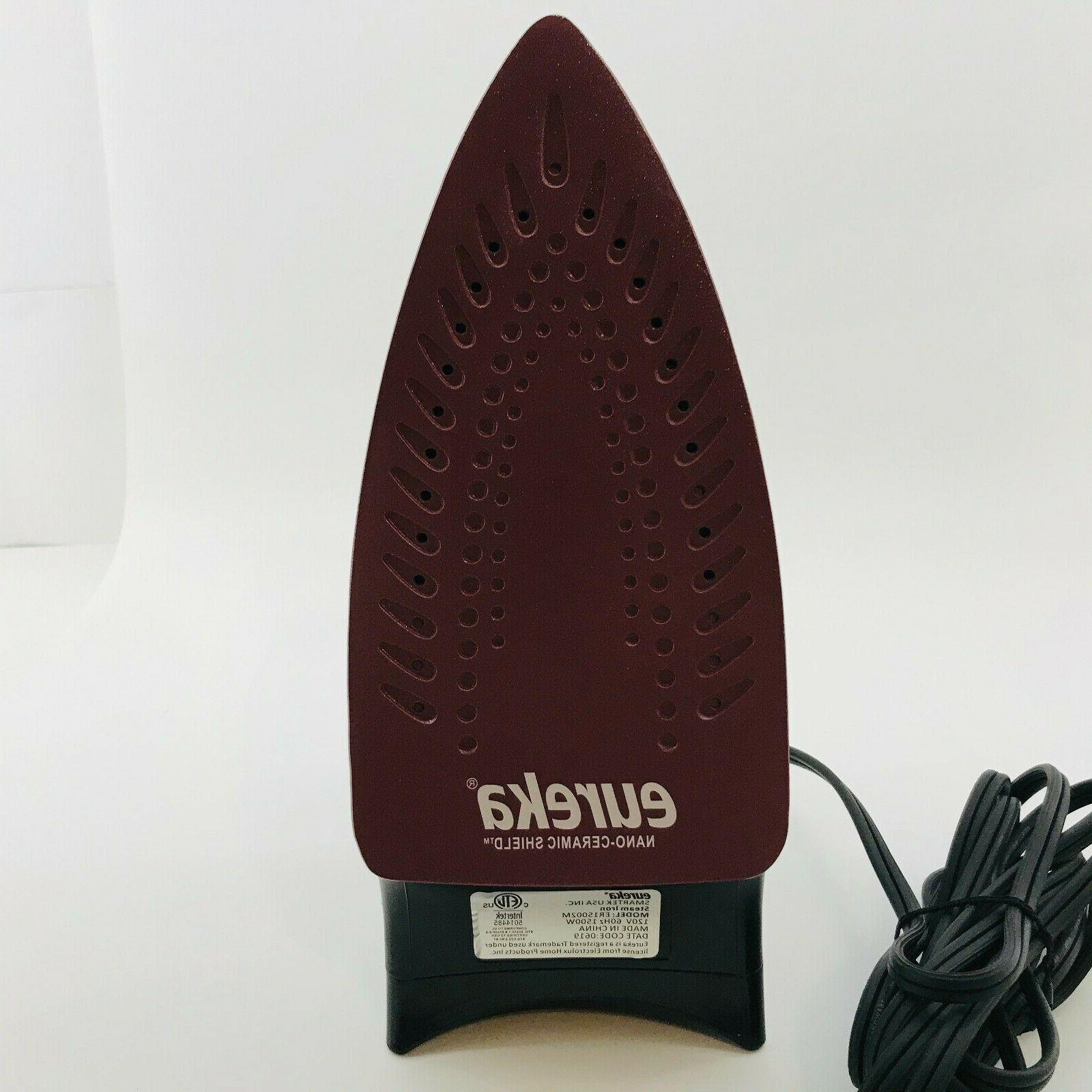Eureka 1500 Watt Iron New | Tested
