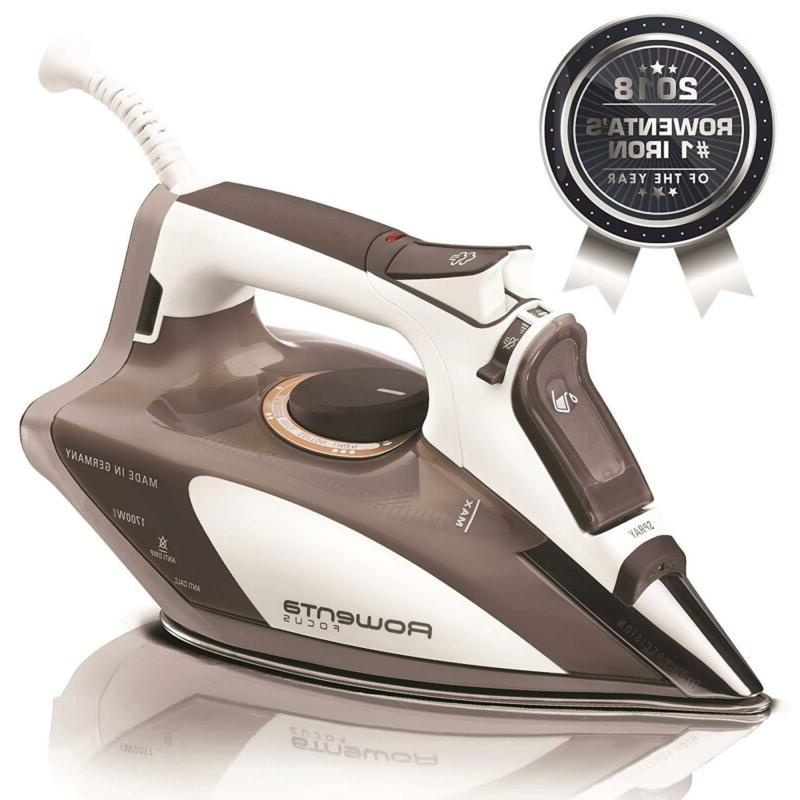 stainless steel soleplate steam iron microsteam home