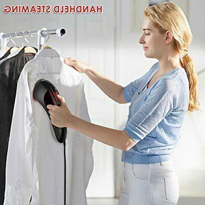 Steam Iron, 1200W 15S Steamer for Clothes, &