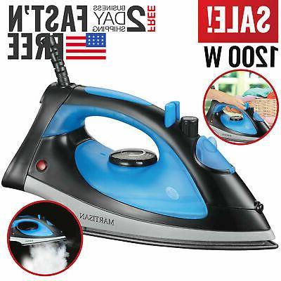 Steam Iron Travel Electric Garment Small Compact Powerfull