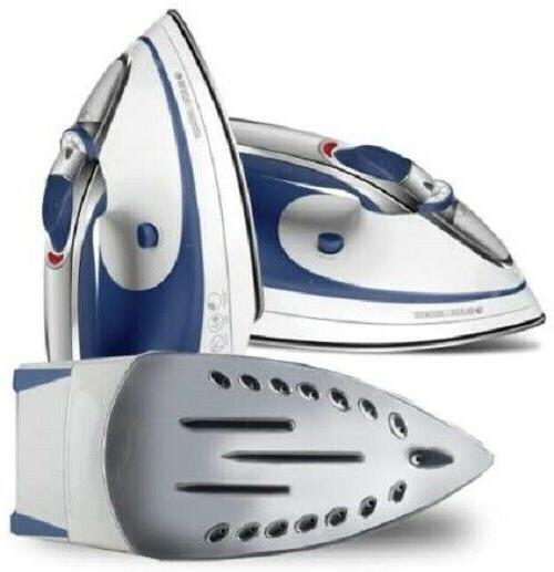 Steam Iron Clothes stainless steel blue