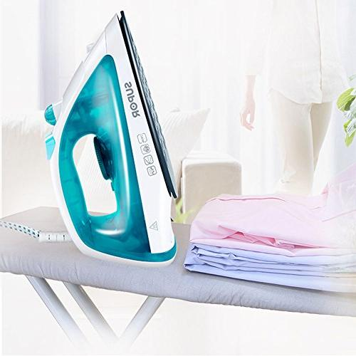 Emo Iron Ceramic Soleplate With Clothes Auto-off Blue 220V 2200W