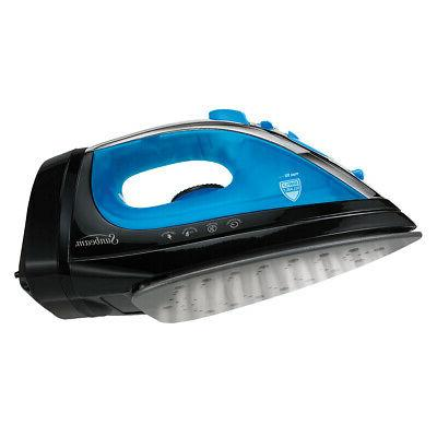 steam master iron w retractable cord blk