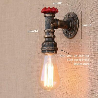 Steam punk rust pipe lights