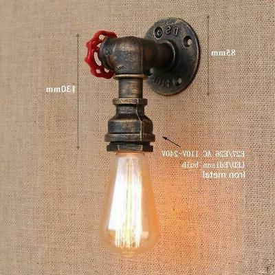 Steam rust Water pipe lights living room