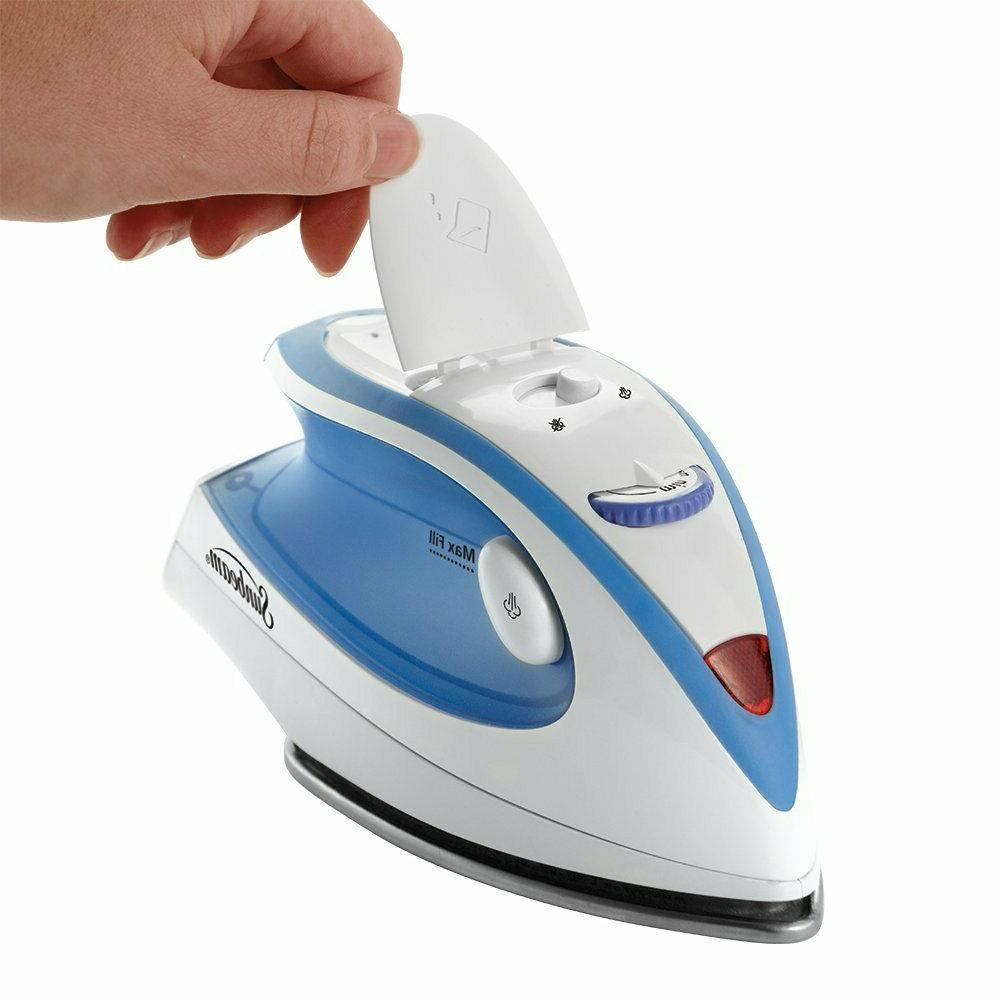 NEW Steam Iron Compact Dual Powerfull