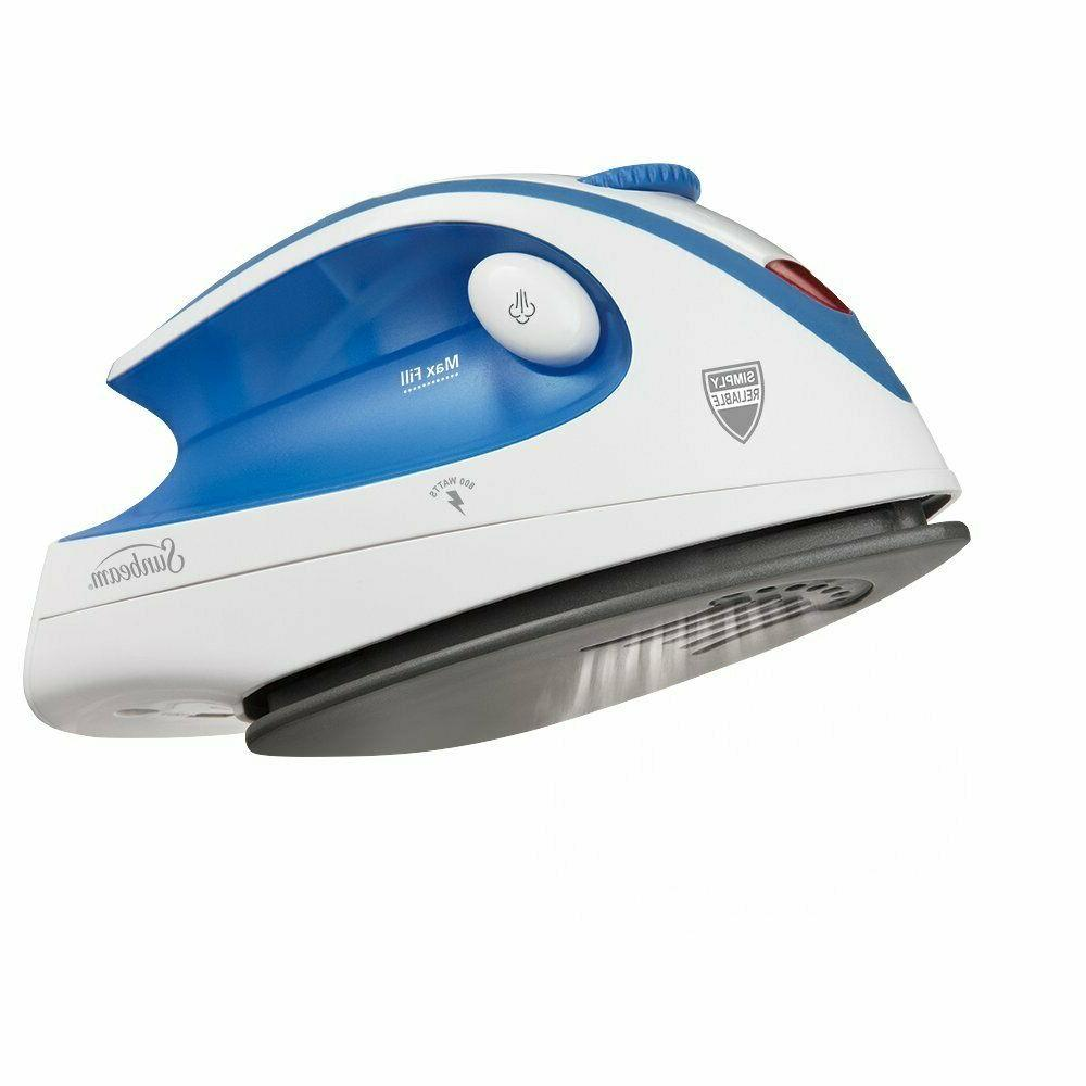 NEW Iron Steam Iron Travel Electric Compact Powerfull