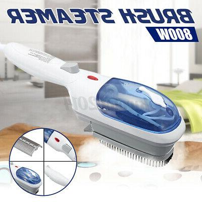 US Clothes Portable Iron Handheld Fabric Laundry Steamer Brush 800W