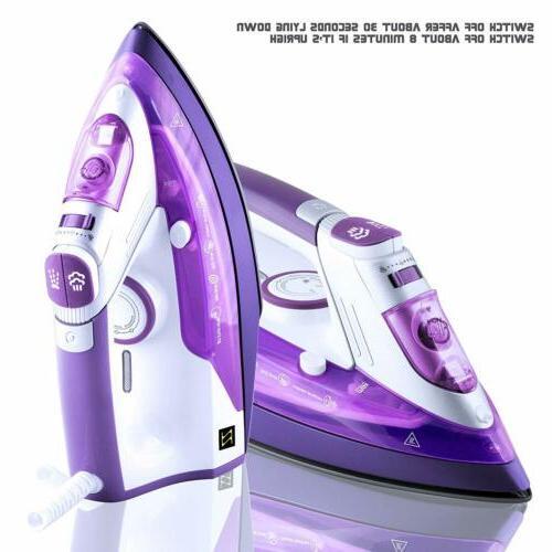 ZZ Movable Water Tank Steam Spray Option Off Purple