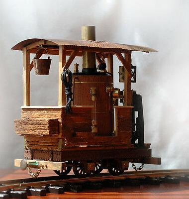 Working steam This train vintage spectacularly detailed