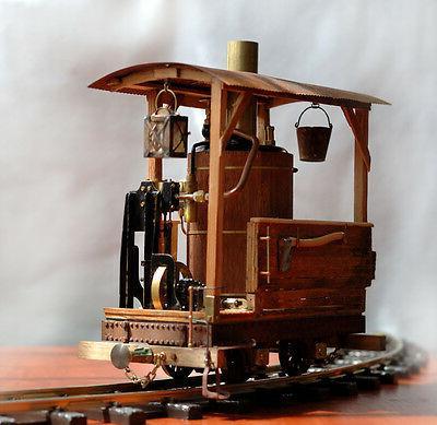 Working steam engine. This train