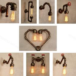 Loft lndustrial <font><b>Steam</b></font> punk Wall Light <f