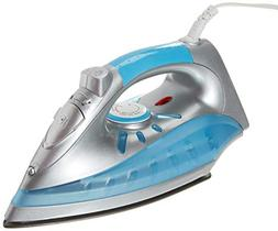 Brentwood MPI-60 Nonstick Steam/Dry, Spray Iron with Silver