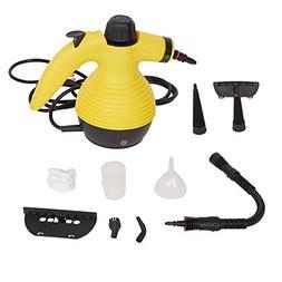 KARMAS PRODUCT Multi Purpose Handheld Steam Cleaner with 9-P