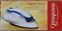 New In Box Sunbeam Steam Travel Iron Dual Voltage 3932 With