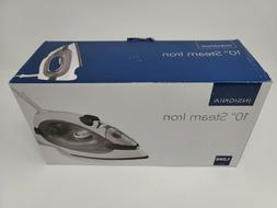 """New Insignia NS-IR10BK6 Retractable 10"""" Cord Steam Iron Whit"""