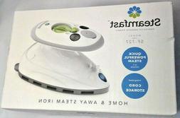 New~Steamfast Mini Steam Iron Uses Mask/Fabric Non-Stick Por