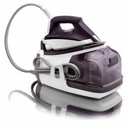 Rowenta Perfect 1800-Watt Eco Energy Station Steam Iron Purp