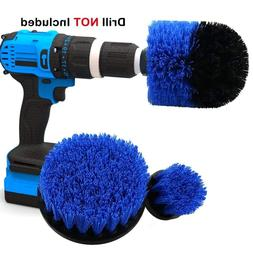 piece drill brush cleaning tools power scrubber