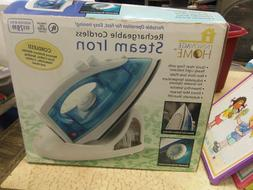 INNOVAGE HOME RECHARGEABLE CORDLESS STEAM IRON - BRAND NEW!