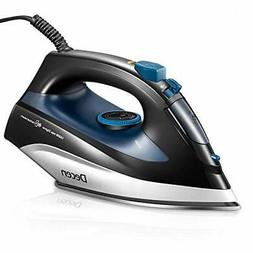 Steam Iron, DECEN 1400W Irons for Clothes with Variable Temp